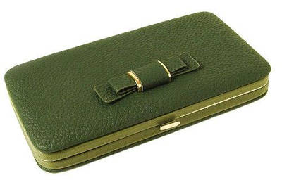 Кошелек женский клатч портмоне Baellerry n1330 Зеленый 170657