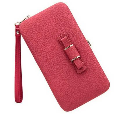 Кошелек женский клатч портмоне Baellerry n1330 Красный 170660