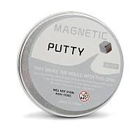 Пластилин умный магнитный Magnetic Putty серый 149549, фото 1