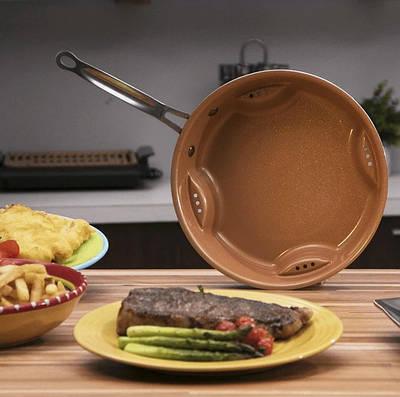 Стальная воздушная сковорода Steel Air Fry Pan 152847