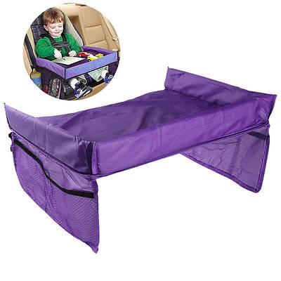 Столик детский для автокресла в авто Play n Snack Tray фиолетовый 175435