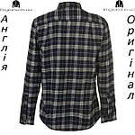 Размер L (наш 50й) - Рубашка в клетку мужская Pierre Cardin из Англии - на длинный рукав, фото 2