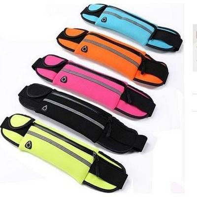 Сумка на пояс спортивная, сумка для бега чехол 1 карман большая Belt Case 182967