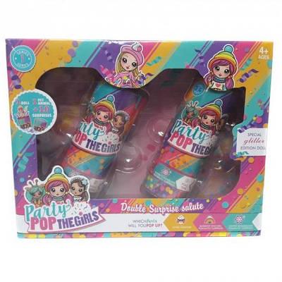Кукла с сюрпризом хлопушки лол 2 штуки в комплекте Lol Party Pop модель HT211 149591
