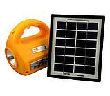 Кемпинговый фонарь с солнечной батареей и радио No: 7655, фото 4