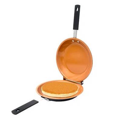 Двухсторонняя сковородка для панкейков Pancake Bonanza Copper 171551