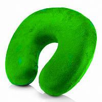 Подушка дорожная Memory Foam Trevel Pillow зеленая 149076