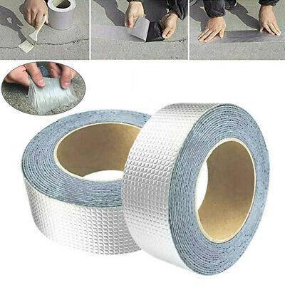 Лента скотч, водонепроницаемая клейкая лента скотч, фольгированное покрытие 10см 1.0мм 5м Buryl Waterproof