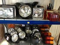 Фонари, фары, лампы, катафоты в полном ассортименте