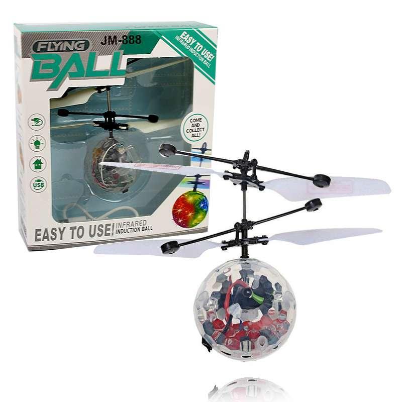 Летающий светящийся сенсорный шар вертолет Sensor Flying Ball 131746