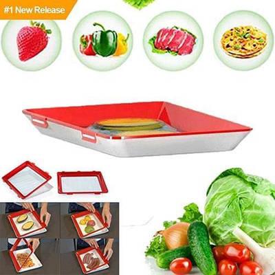 Лоток для хранение пищевых продуктов в вакуумной упаковке Clever 179458