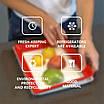 Лоток для хранение пищевых продуктов в вакуумной упаковке Clever 179458, фото 4