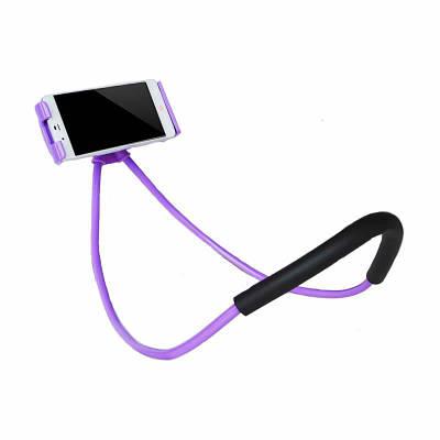 Держатель универсальный на шею для телефона Phone Holder Фиолетовый 183048