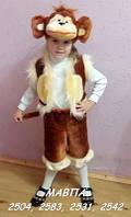 Детский карнавальный новогодний костюм детский  Обезьянка Мавпа