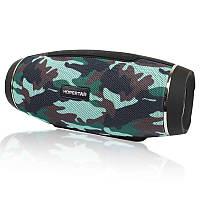 Портативная акустическая Bluetooth колонка Hopestar H27 камуфляж 140049