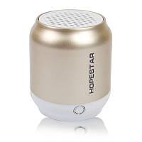 Портативная акустическая Bluetooth колонка Hopestar H8 золотистая 140052