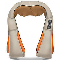 Массажер шиацу на плечи для шеи и спины 4 кнопки воротник универсальный Neck Kneading 154095