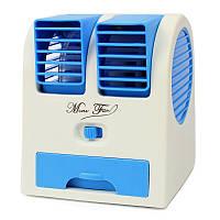 Мини кондиционер Conditioning Air Cooler Usb Electric Mini Fan синий 183287, фото 1