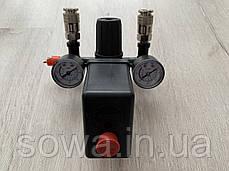 Автоматика, прессостат для компрессора в сборе / 220V, фото 3