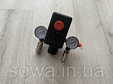 Автоматика, прессостат для компрессора в сборе / 220V, фото 2