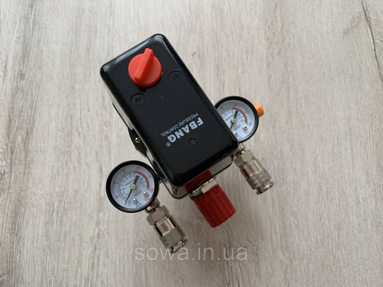Автоматика, прессостат для компрессора в сборе / 380V