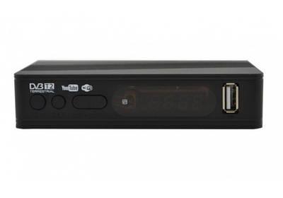 Тюнер DVB-T2 Megogo Small с поддержкой wi-fi адаптера 180562