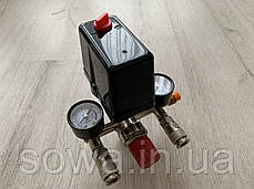 Автоматика, прессостат для компрессора в сборе / 380V, фото 2