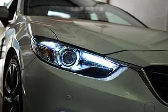 Передние фары Mazda 6 GJ (12-16) Led оптика