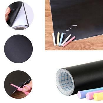 Дошка-стікер для малювання крейдою Black Board Sticker 182584
