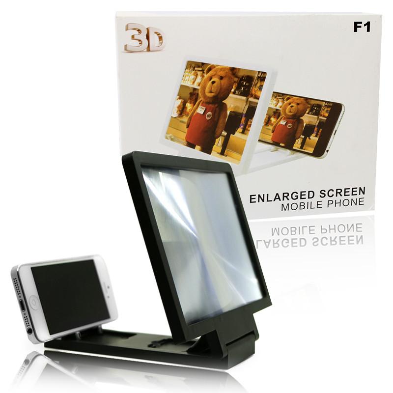 Увеличитель экрана 3D подставка для телефона Enlarged Screen Mobile Phone F1 149935
