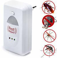 Ультразвуковой отпугиватель грызунов и насекомых Pest Reject 130777, фото 1