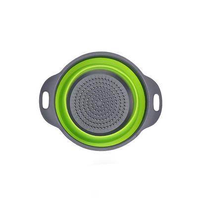 Дуршлаг силиконовый складной Collapsible filter baskets 174871