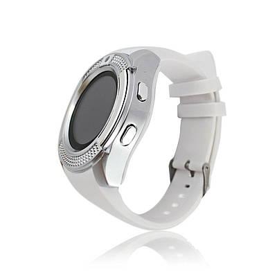 Умные смарт часы Smart Watch V8 белые 148910