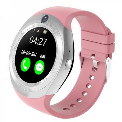 Умные часы Smart Watch Y1 Розовые 182399