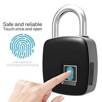 Умный замок с отпечатком пальца finger lock P3 181097