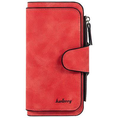 Женский клатч портмоне Baellerry Forever 2345 красный plumb red 176939
