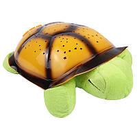 Музыкальный ночник проектор Черепаха зеленая 141217, фото 1
