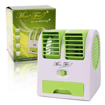 Мини кондиционер Conditioning Air Cooler Usb Electric Mini Fan зеленый 149873