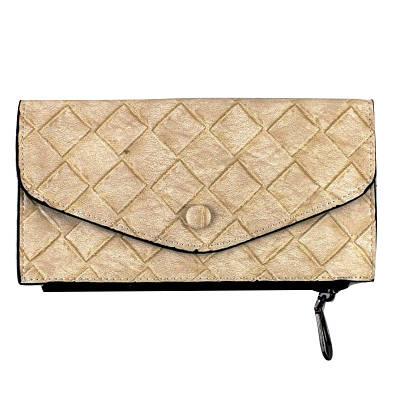 Женский клатч портмоне кошелек 20х10 см Viki бежевый 149155