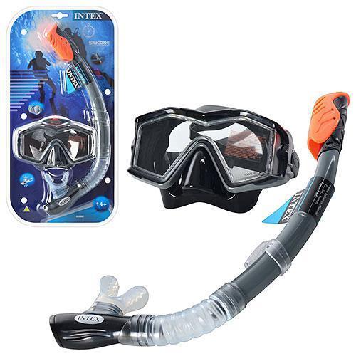 Набір для плавання Intex 55962 гіпоалергенний Чорний