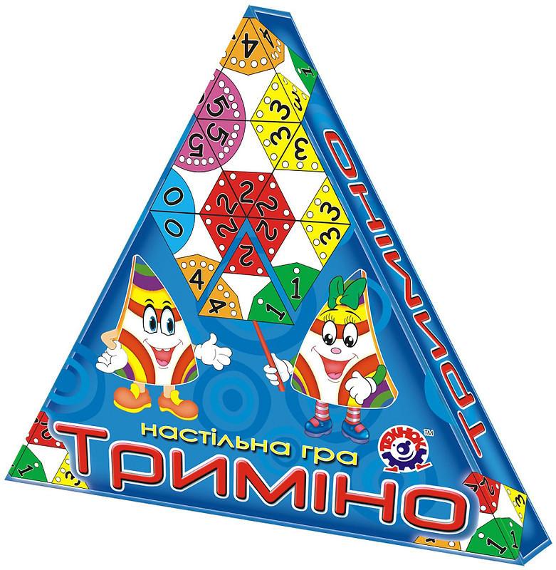 Настільна гра для дітей «Триміно» ТЕХНОК (2827)