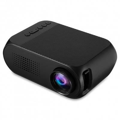 Портативный проектор Led Projector YG320 мини с динамиком Черный 183002