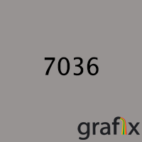 Порошковая краска глянцевая, полиэфирная, архитектурная, 7036