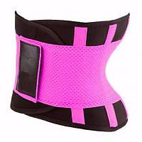 Пояс для похудения Hot Shapers Belt Power на липучке розовый размер Хххxl 183173, фото 1