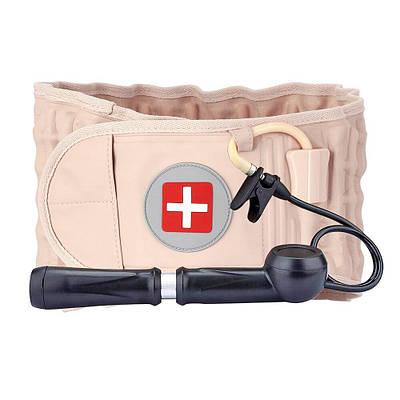 Пояс массажер для поясничного отдела Spinal Air Traction Belt Waist Brace 182929