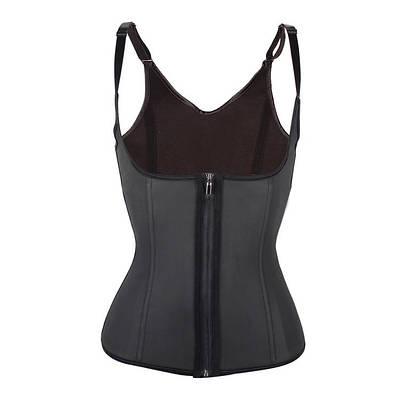 Утягивающий корсет для похудения на бретельках Adjustable shoulder strap corset черный L 153988