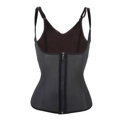 Утягивающий корсет для похудения на бретельках Adjustable shoulder strap corset черный M 180970