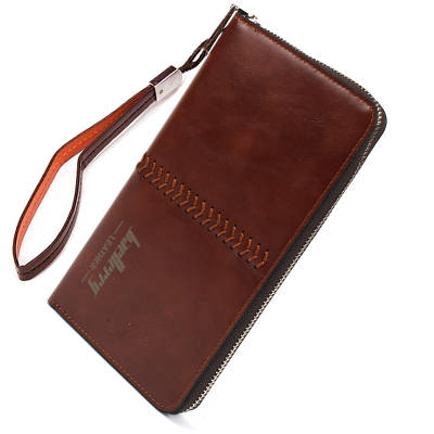 Мужской клатч Baellerry Leather SW008 коричневый 141871