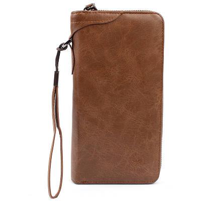 Мужской кошелёк портмоне Wallery XW3333 Коричневый 149191