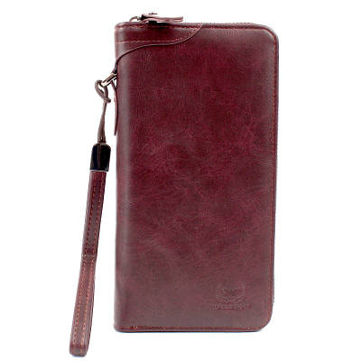 Мужской кошелёк портмоне Wallery XW3333 Фиолетовый 149193